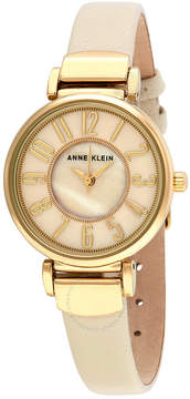 Anne Klein Ivory Mother of Pearl Dial Ladies Watch