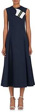 Calvin Klein Women's Cotton-Silk Cady A-Line Dress