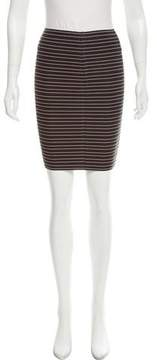 Boy By Band Of Outsiders Striped Bandage Skirt
