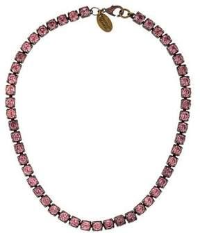 Erickson Beamon Crystal Link Necklace