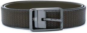 Canali textured bucket belt