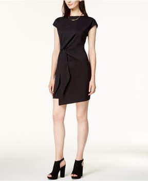 Bar III Tie-Front Sheath Dress, Created for Macy's