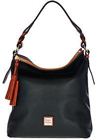 Dooney & Bourke As Is Pebble Leather Small Sloan Hobo