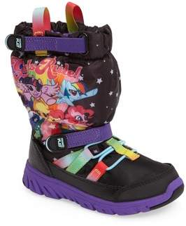 Stride Rite Toddler Girl's Made2Play My Little Pony Water Resistant Boot
