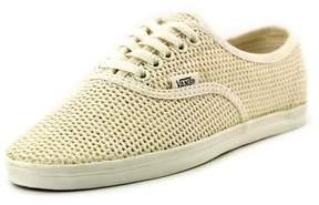 Vans Ynez Binding Women US 5 Ivory Sneakers