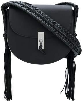 Altuzarra tassel detail flapped shoulder bag