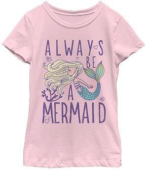 Fifth Sun Pink 'Always a Mermaid' Tee - Girls