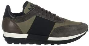 Moncler Leather And Suede Sneakers