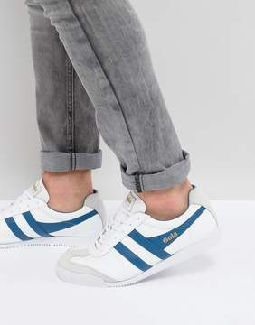 Gola Harrier Leather Sneakers