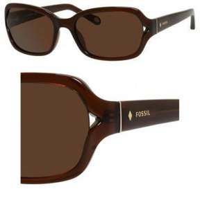 Fossil Sunglasses 3021/S 0XL7 Transparent Brown 55MM