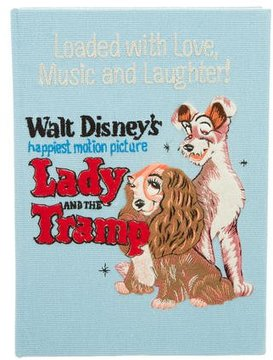 Olympia Le-Tan Lady And The Tramp Book Clutch