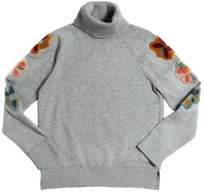 Chloé Cotton & Wool Blend Sweater