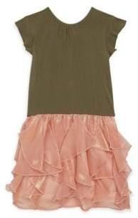 Imoga Toddler's, Little Girl's& Girl's Ruffle Tulle Dress