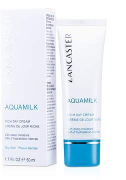 Lancaster Aquamilk Rich Day Cream - For Dry Skin Type