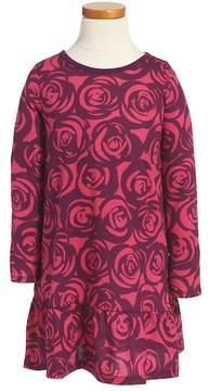 Tea Collection Rennie Rose Ruffle Dress (Toddler Girls, Little Girls & Big Girls)
