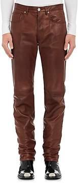 Calvin Klein Men's Leather Pants