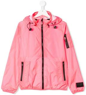 Diadora Junior TEEN rainwear zip up jacket