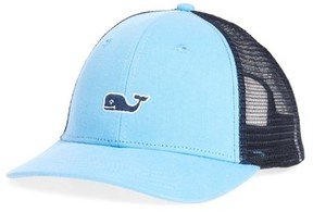 Vineyard Vines Men's High Profile Trucker Hat - Blue