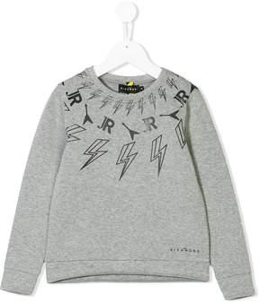 John Richmond Kids long sleeve printed sweatshirt