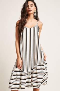 Forever 21 Stripe Drop Hem Cami Dress