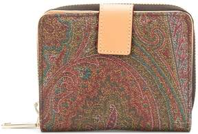 Etro paisley printed zip purse
