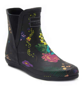 London Fog Piccadilly Womens Waterproof Rain Boots