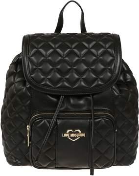 Love Moschino Black Backpack