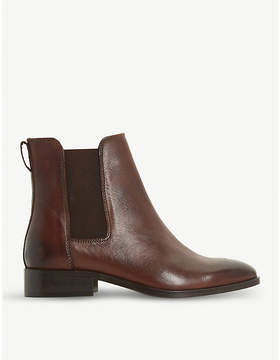 Dune Clean classic leather Chelsea boots