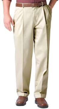 Dockers Men's Comfort-Waist D3 Classic-Fit Full-Elastic Pleated Pants