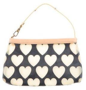 Moschino Mini Heart Print Bag