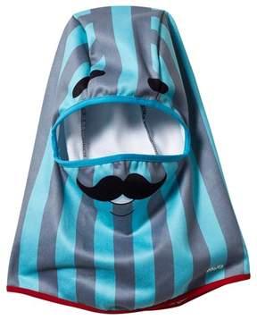Barts Blue Moustache Helmaclava