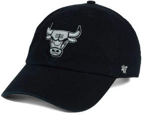 '47 Chicago Bulls Black Gray Clean Up Cap