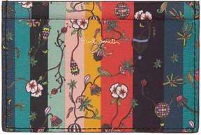 Paul Smith Multicolor Balloon Floral Card Holder