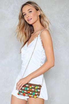 nastygal WANT Shell Game Crossbody Bag