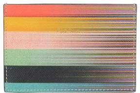 Paul Smith Mixed Stripe Credit Cards Holder