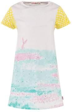Billieblush Pink Mermaid Print Dress