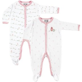 Luvable Friends Newborn Baby Boys' and Baby Girls' Sleep N Play 2-Pack, Choose Your Color & Size