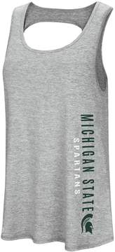 Colosseum Women's Michigan State Spartans Twisted Back Tank Top