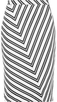 Altuzarra Celandrine Striped Wool-blend Skirt - Off-white