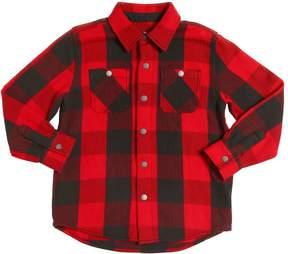Stella McCartney Plaid Cotton Flannel Shirt