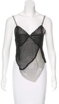 Christian Lacroix Chainmail Knit Top w/ Tags