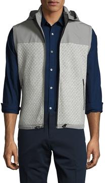 Original Penguin Men's Active Capsule Knit Hooded Vest