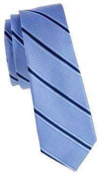 Michael Kors Boy's Deco Striped Silk Tie
