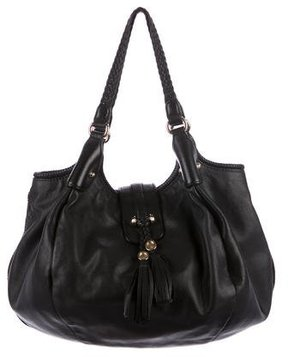 Gucci Leather Marrakech Hobo - BLACK - STYLE