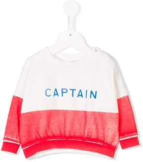 Bobo Choses Captain colour-block sweater