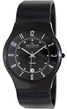 Skagen Men's 233XLTMB Classic Stainless Steel Watch, 37mm