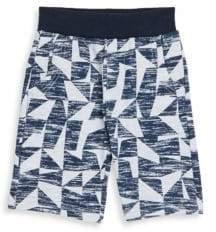 Petit Lem Little Boy's Abstract-Print Shorts