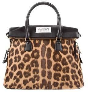Maison Margiela Medium Ponyhair 5AC Bag