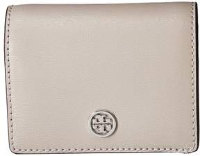 Tory Burch Parker Foldable Mini Wallet Wallet Handbags - BLACK - STYLE