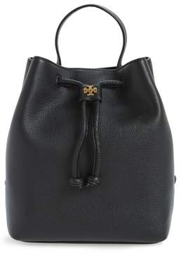 Tory Burch Georgia Leather Backpack - Black